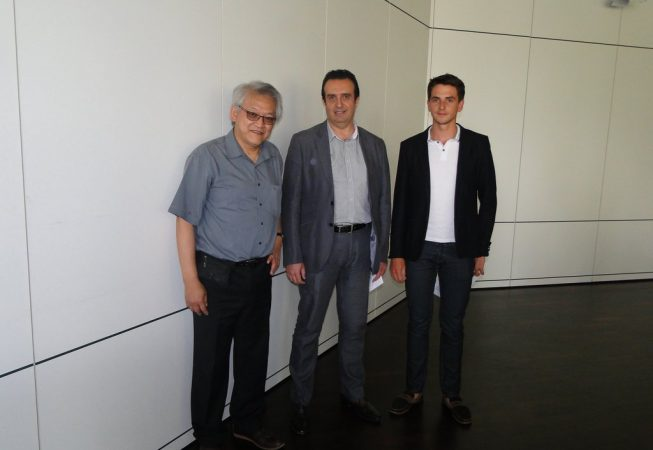 Van Kay N'Guyen (EZEE Bike), Georges Mc Karris (Clean Fizz), Yann Cauquil