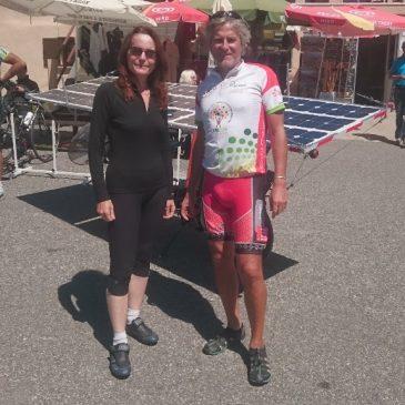 Rencontre au sommet de l'Aubisque avec Christine Aguettaz
