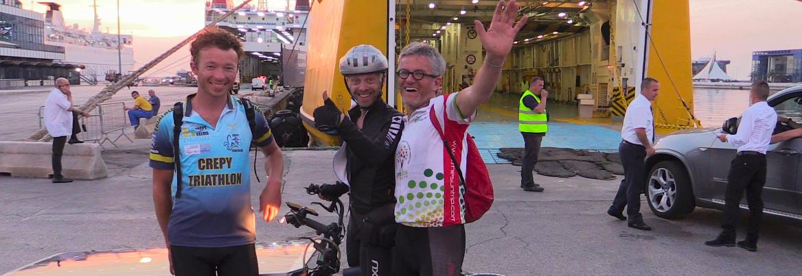Bernard Cauquil - Suntrip - vélo solaire - vélo couché - Sunrider64 - vélo électrique - Bari