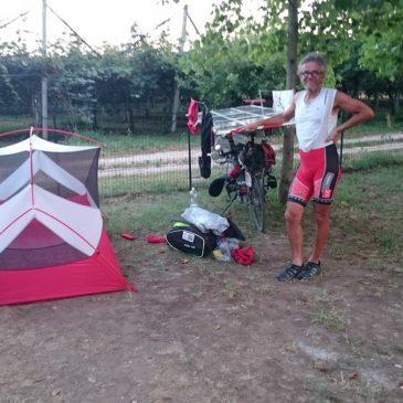 Suntrip : Départ de Vérone pour la dernière étape